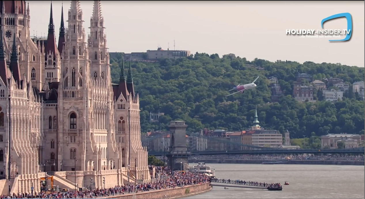 Flugtag in Budapest